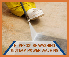 Hi Pressure Washing and Steam Power Washing