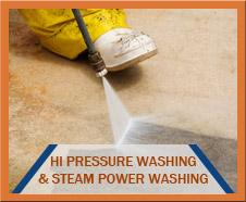 Hi Pressure Washing and Steam Power Washing